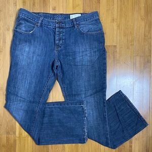 Gap 1969 Low Rise Boot Fit button fly Jeans 36x32